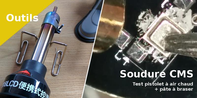outlet à vendre Prix usine 2019 2019 meilleurs Test - Souder avec un pistolet à air chaud et pâte à braser ...
